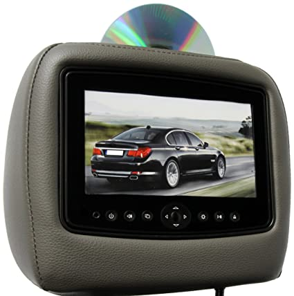Carshow By Rosen Cs Hdody11 T82 Single Dvd Headrest