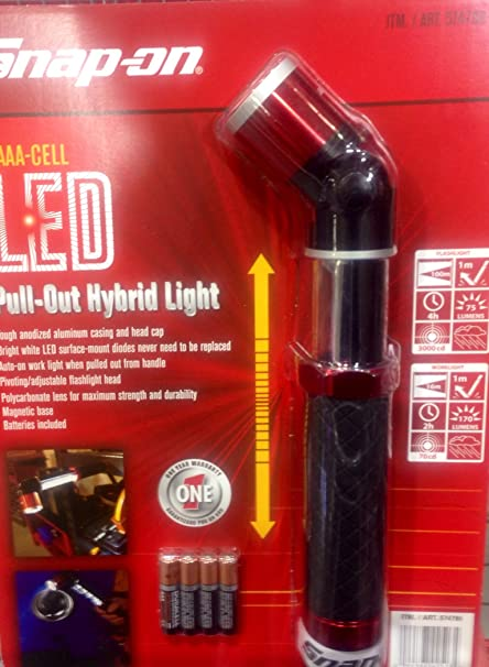 1 X Snap On Led Light Pull Out Hybrid Inspection Lamp
