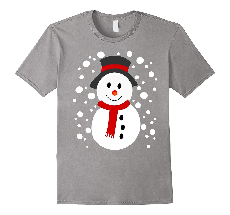 Snowman Cute Not Ugly Christmas Sweater Fun Xmas T-Shirt-CL