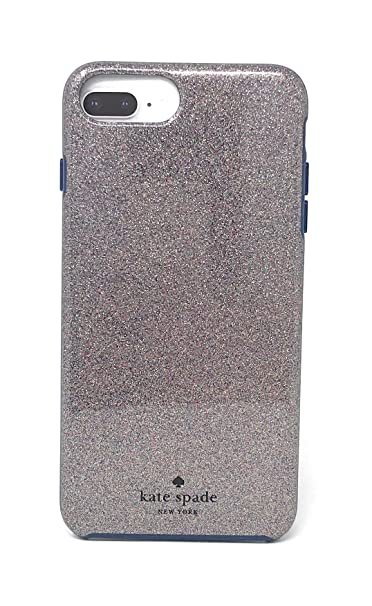 size 40 d2dc2 f66b9 Kate Spade New York Multi Glitter French Navy Protective for iPhone 8 Plus  / iPhone 7 Plus / iPhone 6 Plus
