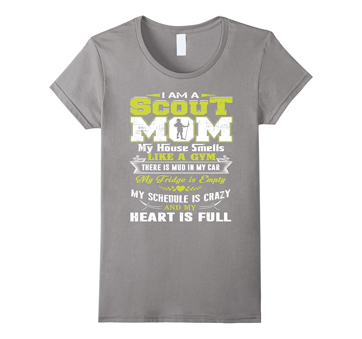 Women's SCOUT MOM Shirt-CL