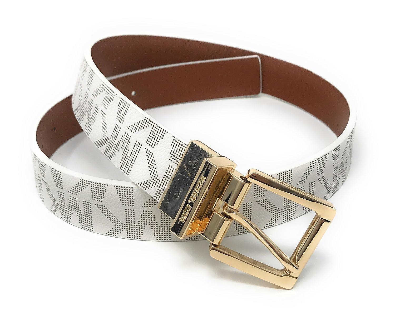 216a44e36888 Michael Kors Women s Reversible MK Logo Leather Belt