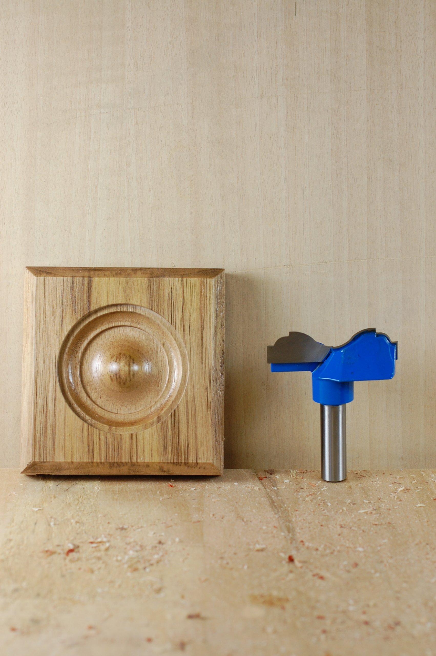Woodline WL-7502 2 1/2'' Rosette Cutter