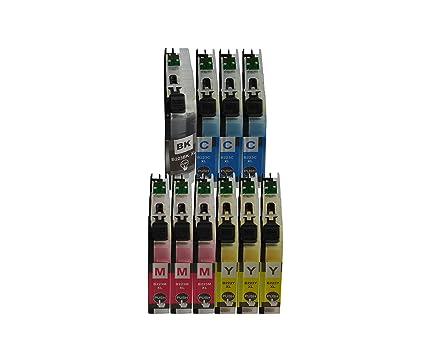 Cartuchos de tinta con chip de 3color® para Brother DCP-J562DW DCP-J4120DW MFC-J480DW MFC-J680DW MFC-J880DW MFC-J1140W MFC-J1150DW MFC-J1170 DW ...