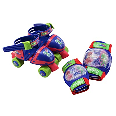 Pyjamasques Boite avec Patins - Rollers + set 2 protections - OPJM019