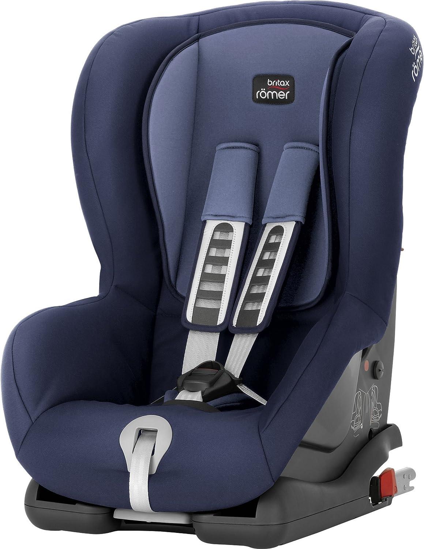 Britax Römer Silla de coche 9 meses - 4 años, 9 - 18 kg, DUO PLUS Grupo 1, Moonlight Blue
