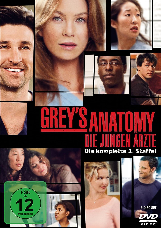 Grey\'s Anatomy: Die jungen Ärzte - Die komplette 1. Staffel 2 DVDs ...