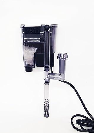 Komi Filtro Externo a Cascada Motor Alto Rendimiento Bomba Externa 2.5 W 160 L/H Acuario Peces Agua Dulce Salada Marino: Amazon.es: Productos para mascotas