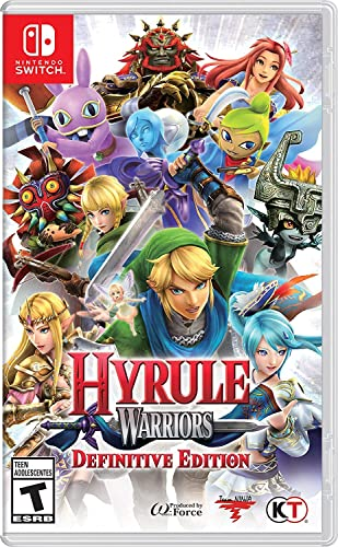 Hyrule Warriors Definitive Edition Nintendo Switch Amazon Ca Computer And Video Games