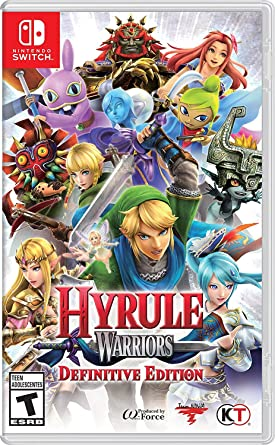 Amazon Com Hyrule Warriors Definitive Edition Nintendo Switch Nintendo Of America Video Games