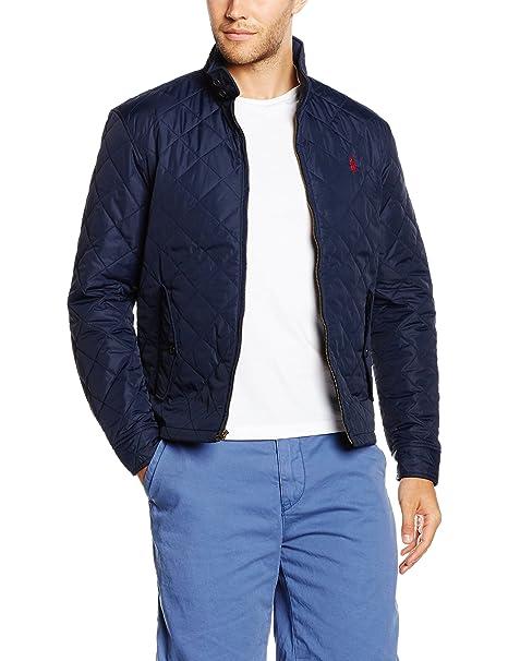 Polo Ralph Lauren Barracuda Jacket, Chaqueta para Hombre, Azul (Aviator Navy) XXL