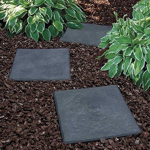 Garden Gear Stomp - Piedras Decorativas para jardín (30 x 30 cm), diseño de Camino: Amazon.es: Jardín