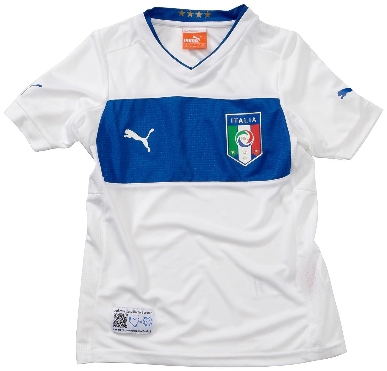 Puma Kinder Fußballtrikot Italia Away Replica