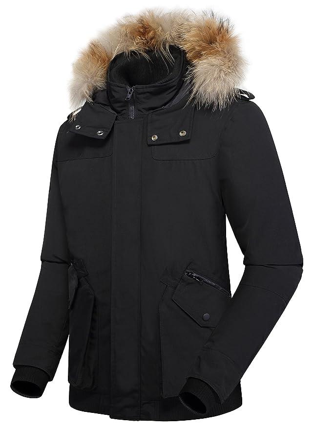 Amazon.com: Arctic Residents New York - Abrigo de invierno ...