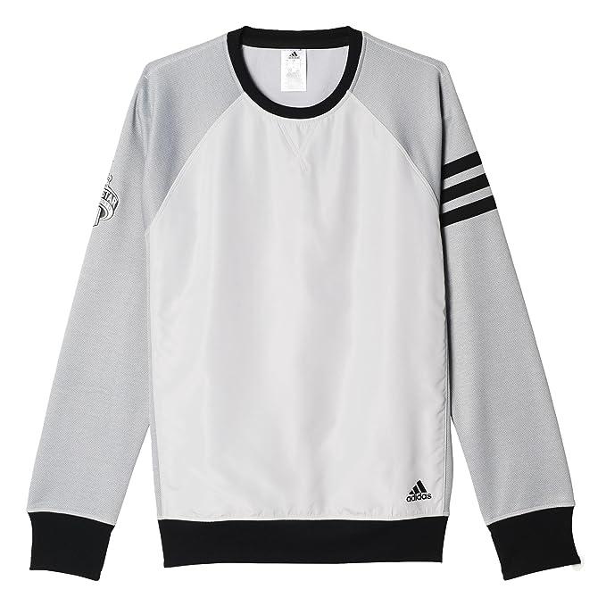 adidas Herren All Star PO Crew Sweat Basketball Pullover