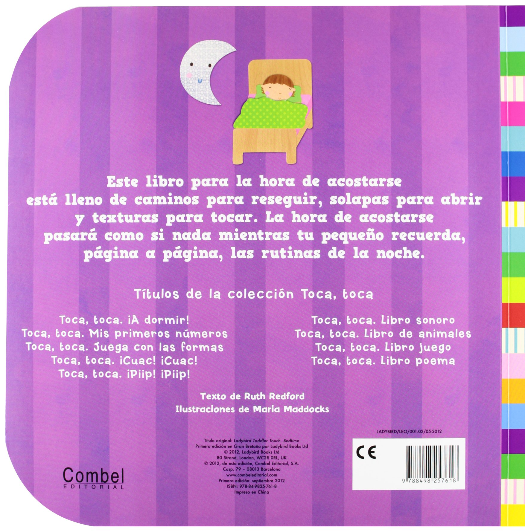 Amazon.com: ¡A dormir! (Toca toca series) (Spanish Edition) (9788498257618): Ruth Redford, Maria Maddocks: Books