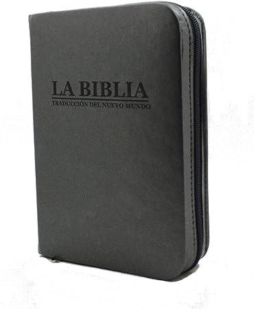 Funda para Biblia - Nueva Edición Traducción del Nuevo Mundo - con cremallera -: Amazon.es: Oficina y papelería