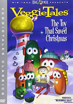 Amazon.com: VeggieTales - The Toy That Saved Christmas: Lesley ...