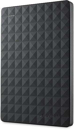 Seagate Expansion Portable, Externo Disco Duro portátil HDD USB 3.0, PC & PS4 Negro