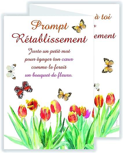 Afie 69 3936 Carte 3 Volets Prompt Rétablissement Amazonfr