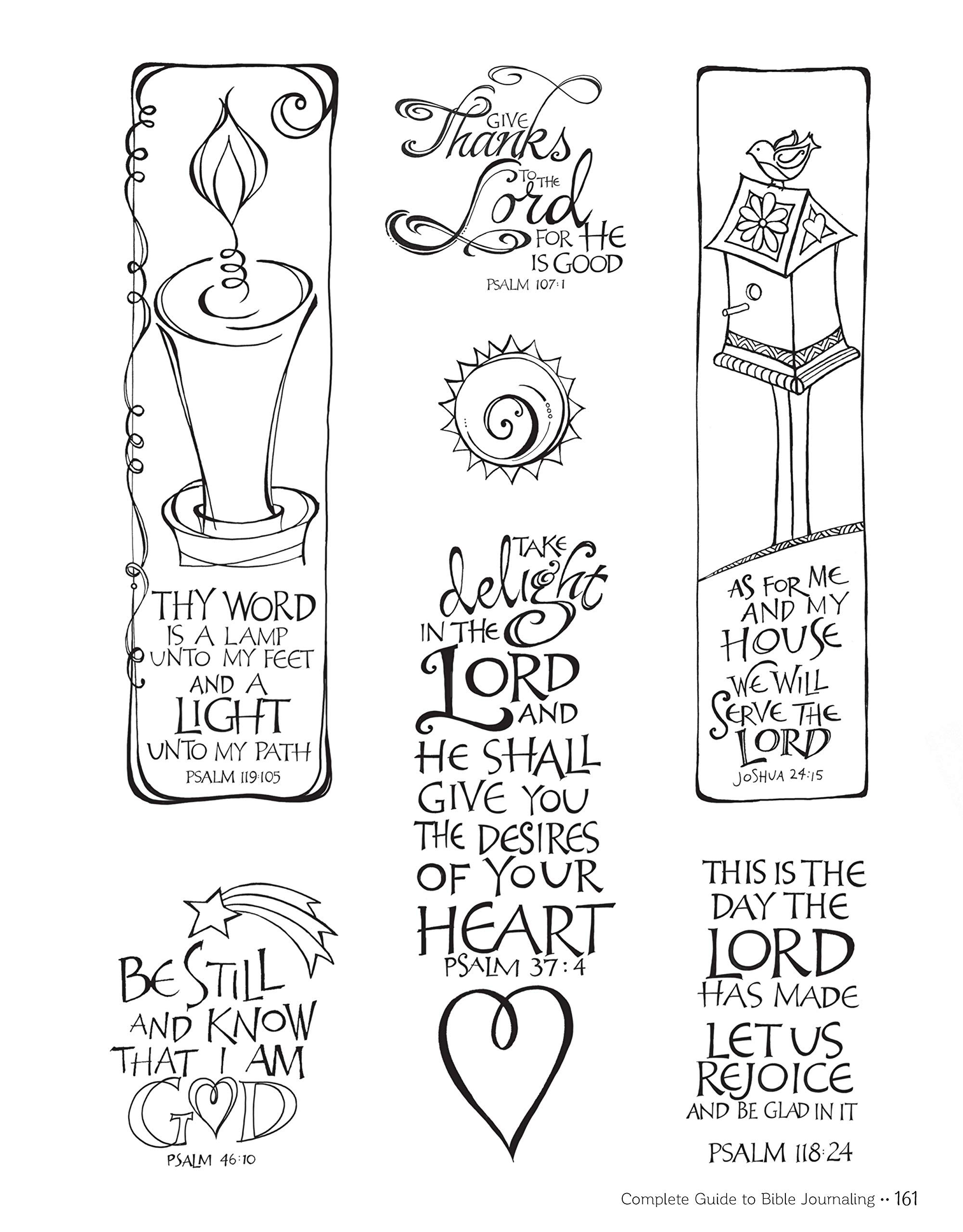 Complete Guide To Bible Journaling Creative Techniques To Express Your Faith Design Originals Includes 270 Stickers 150 Designs On Perforated Pages And 60 Designs On Translucent Sheets Of Vellum Joanne Fink Regina