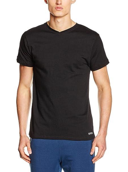 Unno Auuh604, Camiseta para Hombre, Negro (Black), M