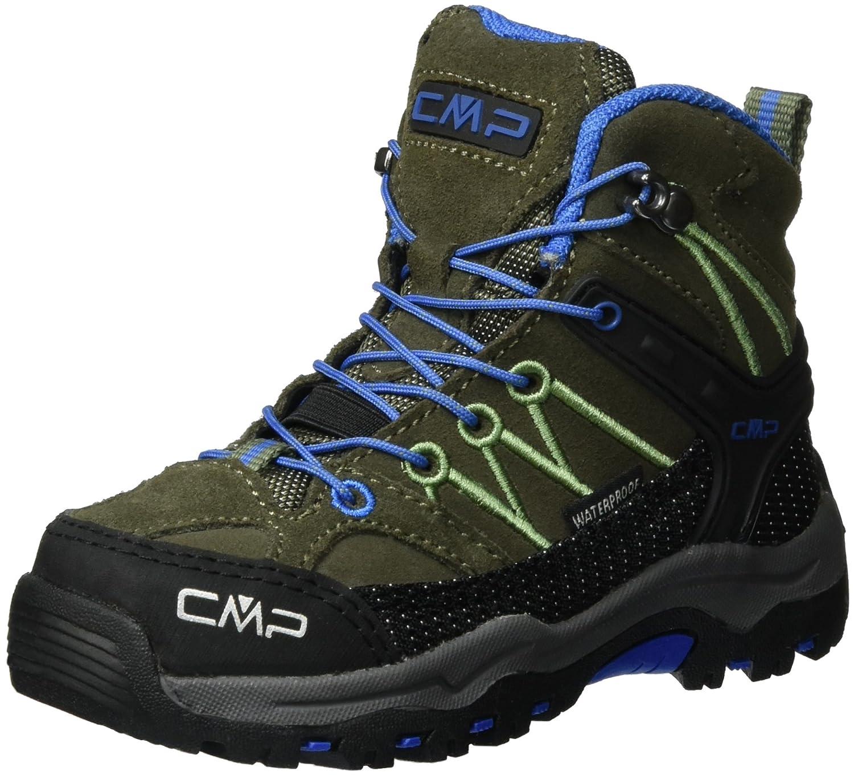 CMP Mixte Rigel Mid WP, Chaussures de Randonnée Hautes Mixte CMP Adulte 32 EU|Vert (Avocado) 0c184c