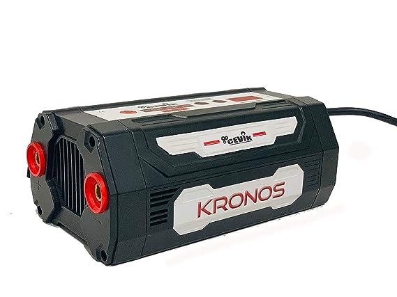 Cevik 1 Soldador Inverter Kronos 155, Negro: Amazon.es: Bricolaje y herramientas