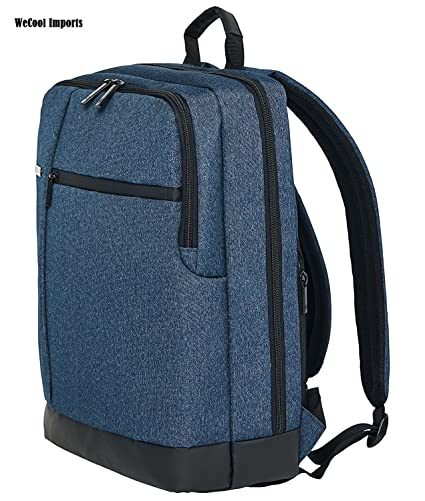 d87607d0b83e WeCool Canvas 15.6 Inch Dark Blue Laptop Backpack - Buy WeCool Canvas 15.6  Inch Dark Blue Laptop Backpack Online at Low Price in India - Amazon.in