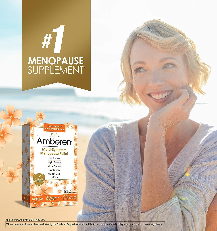Amazon com: Amberen: Safe Multi-Symptom Menopause Relief  Clinically