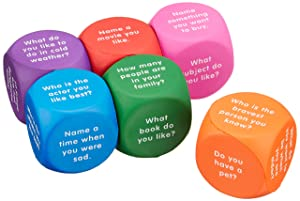 Learning Resources Conversation Cubes, Social Dice, Autism Therapy, Ice Breaker Cubes, Ages 6+