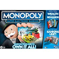 Monopoly - Ultimate Rewards Board Game - Electronic Banking Unit with Cashless Gameplay - Tap Technology - 2 to 4…