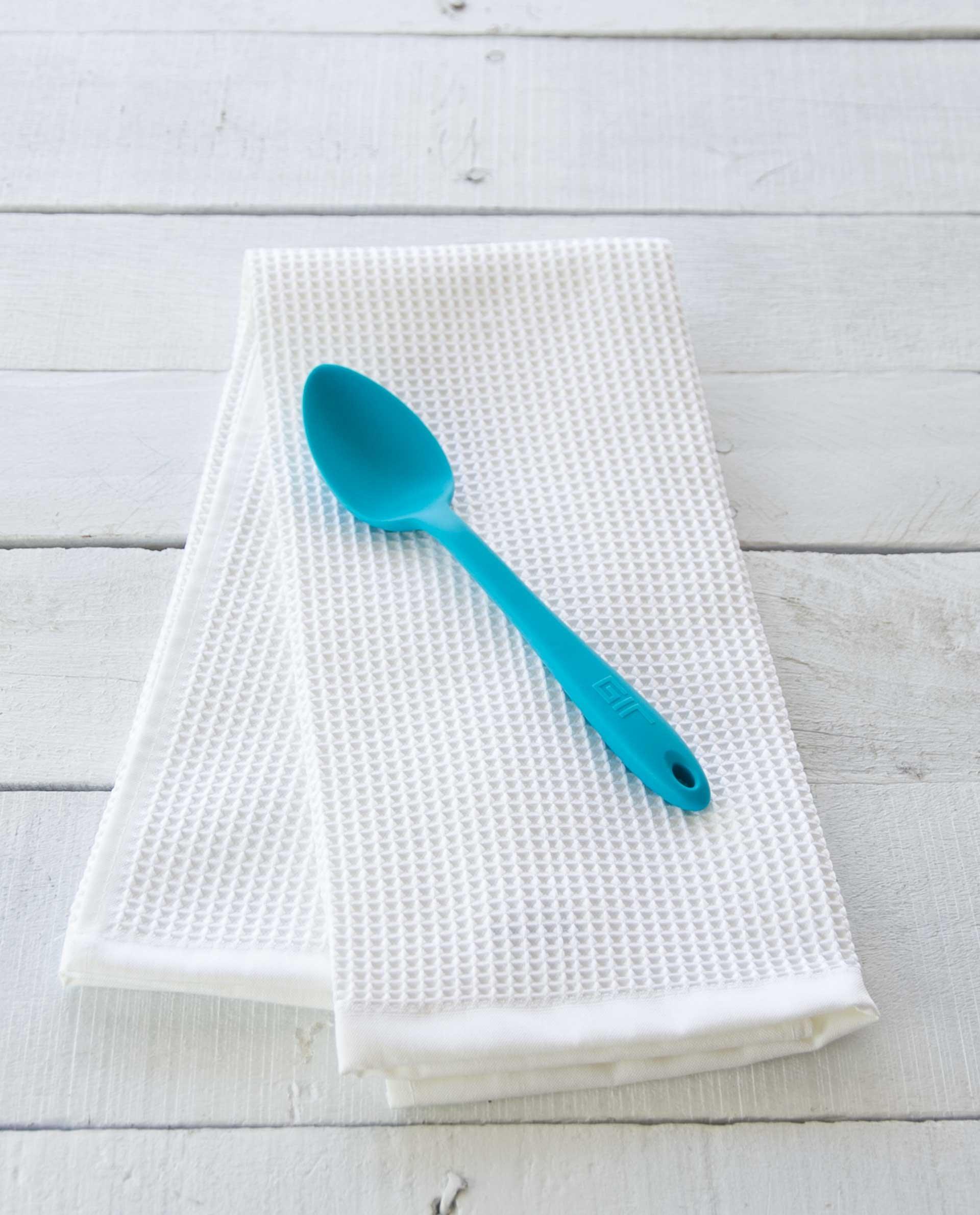 GIR: Get It Right GIRSNM307TEA Premium Silicone Mini Spoon, Mini - 8 IN, Teal