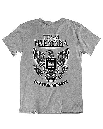 46aa23ea3 Team Nakayama Lifetime Member Family Surname T-Shirt Families The Nakayama Last  Name Size Small