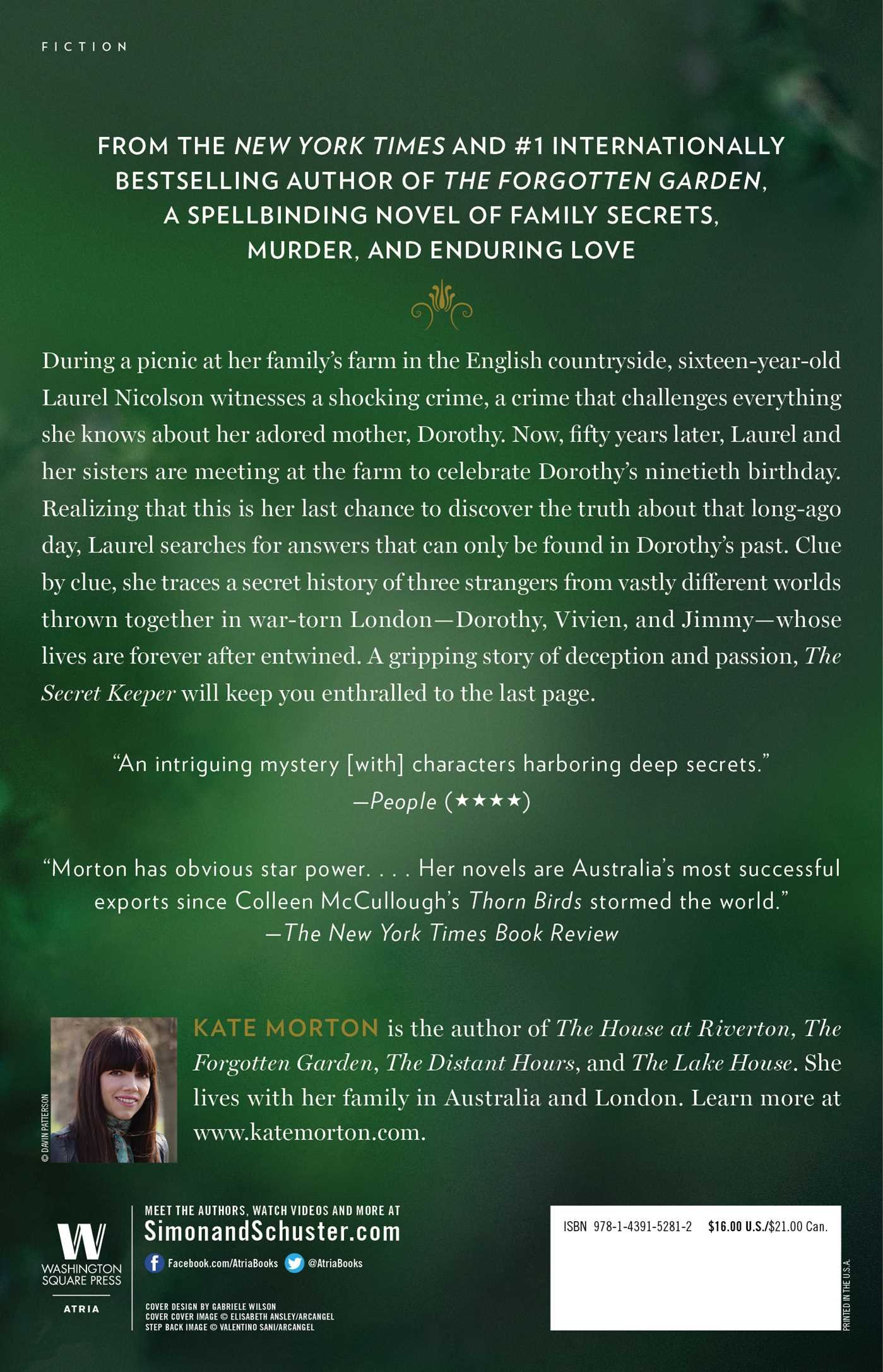 The Secret Keeper: A Novel: Kate Morton: 9781439152812: Amazon: Books