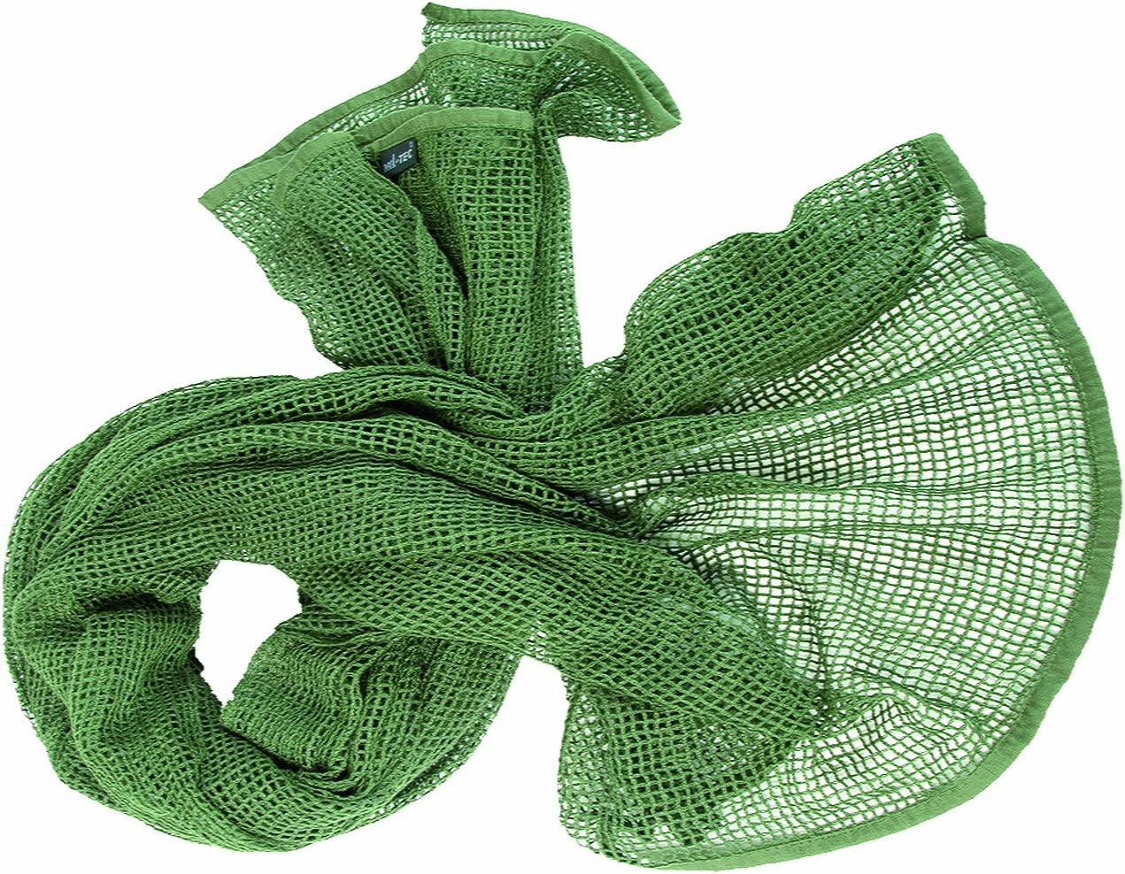 Army Bandana Tactical Net Scarf Military Sorgo Combat Head Wrap Netting Olive
