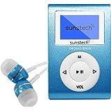 Sunstech DEDALOIII - Reproductor MP3 de 1.1'', 4 GB, color azul