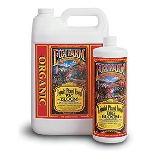 FoxFarm FX14004 2-1/2-Gallon FoxFarm Big Bloom Liquid Concentrate 0.01-0.3-0.7