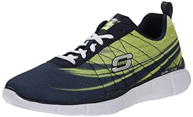 Skechers Equalizer 2.0on Track, Sneakers Basses Homme - Noir - Noir, 42