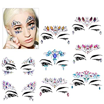 Amazon.com   Face Gems Set(8 Pack) e61fb702691d