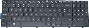 LeFix Replacement Non-Backlit Keyboard (with Frame) for Dell Inspiron 15 3542 3543 3551 3552 5542 5545 5547 5755 5551 5558 5552 5758 5759 7557 7559 5559| 17 5000 5748 5749 5755 5758 5759 Series