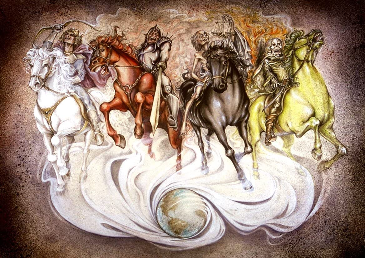 Image result for 4 horsemen of the apocalypse images