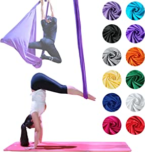 Firetoys Professional Aerial Yoga Hammock, Made in The UK, Safety Tested & Certified - Lots of Colors!