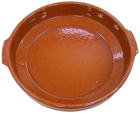 Fackelmann Food&More Cazuela Clásica, Barro, Caramelo, àƒËœ32 cm ...