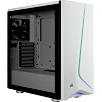 Corsair Carbide Series SPEC-06 RGB Tempered Glass Mid-Tower Gaming Case, Black/White