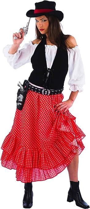 Limit Sport MA678 Grösse - Disfraz de vaquera para niña (talla M ...