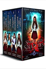 Penny and Boots Complete Series Omnibus: An Unveiled Academy Novel - Snakes and Shadows, Werewolves and Wendigo, Pixels and Poltergeists, Bunyips and Billabongs Kindle Edition