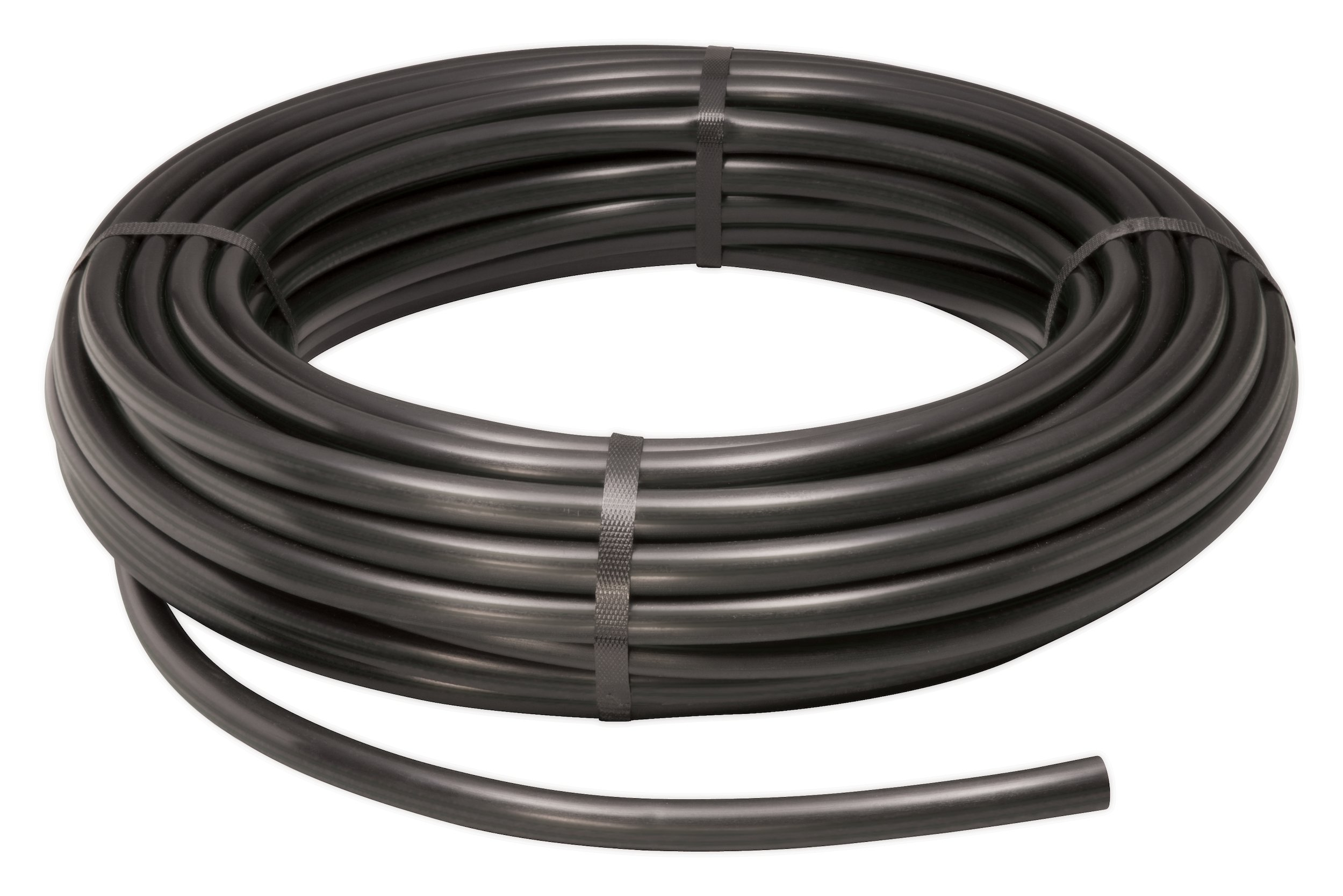 Rain Bird T70-100S Drip Irrigation 1/2'' (.700'' OD) Blank Distribution Tubing, 100', Black