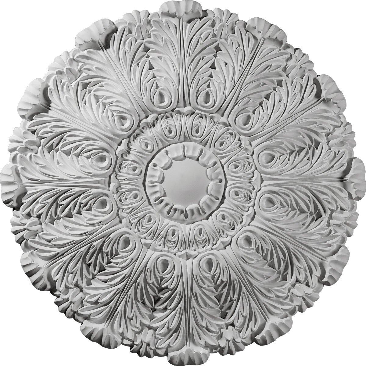 Ekena Millwork CM31DU 31-Inch OD x 1 1/2-Inch P Durham Ceiling Medallion