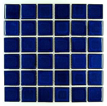 Pretty 1200 X 1200 Floor Tiles Thin 150X150 Floor Tiles Rectangular 24 X 48 Drop Ceiling Tiles 24X24 Drop Ceiling Tiles Youthful 2X2 Ceiling Tiles Blue3D Drop Ceiling Tiles Premium Quality Cobalt Blue Porcelain Square Mosaic Tile Shiny ..